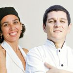 Chef André Buzo e Juliana Muniz