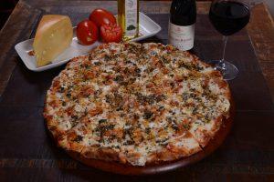 Pizza Shimeji do Vignoli