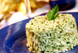 Arroz de brócolis (Foto: reprodução Facebook Margarina Puro Sabor)