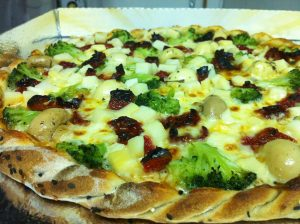 Pizza Vegetariana (Divulgação Art'in Pizza)