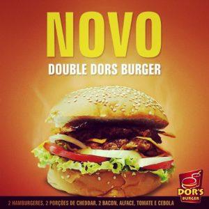 Double Dors Burguer, a gostosa novidade no cardápio do Dor's (Divulgação)