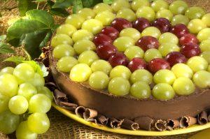 Torta de Uva com Chocolate (Divulgação)