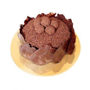 Torta de brigadeiro belga (Divulgação)