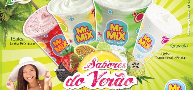 Novos milk shakes para saborear no verão