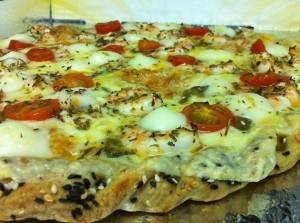 Pizza de Camarão (Divulgação Art'in Pizza)