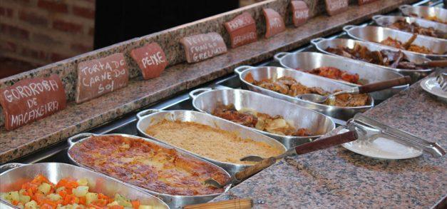 Culinária regional do Lá na Roça