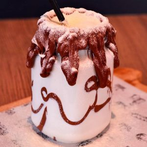 Milk Shake de Leite Ninho com Nutella do Ordones Sandwish Shop