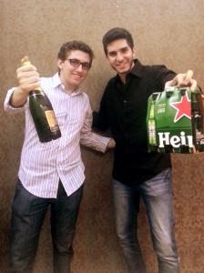 Gustavo Dantas e Pedro Leite (Divulgação)