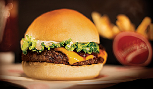 Barney's Burger para fechar o domingo