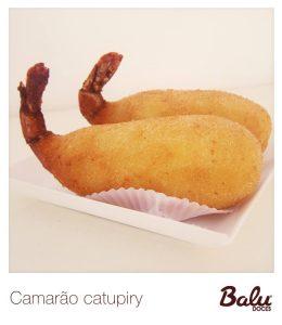 Camarão com catupiry da Balu