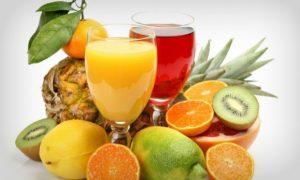 Sucos de frutas