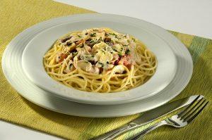 Spaghetti ao Molho de Strogonoff