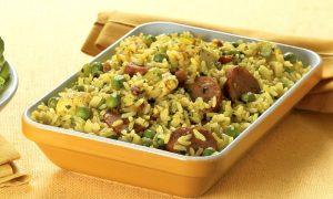Apetitoso arroz catalão, iguaria espanhola (Divulgação)
