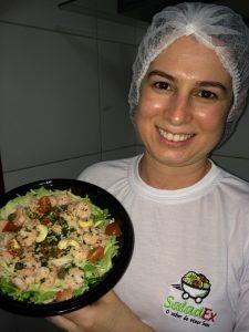 Camila Sá, proprietária da Saladex