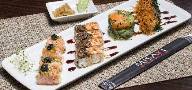 Misaki traz novidades com menu de almoço