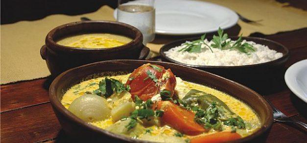 Almoço no restaurante Colher de Pau