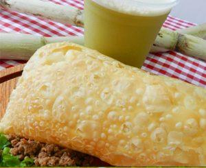Pastel e caldo de cana da Leão do Sul (Divulgação)