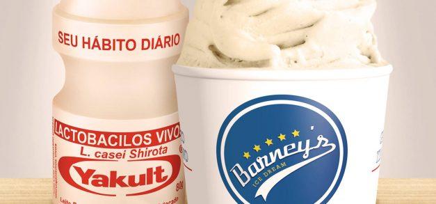 Novos sabores de gelatos do Barney's Ice Dream