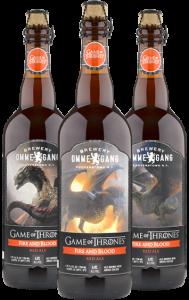 Fire and Blod: Red Ale americana apimentada inspirada nos dragões da personagem Daenerys, interpretada por Emilia Clark (Divulgação)