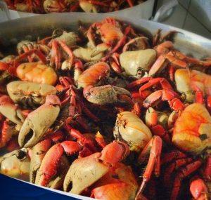 Caranguejo, uma delícia e paixão fortalezense (Foto: Chico do Caranguejo)