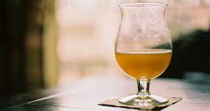 Copo cerveja tulipa