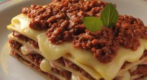 Lasanha de panqueca de carne: união balanceada de sabores (Divulgação)