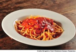 Spaghetti Sugo do La Pasta Gialla
