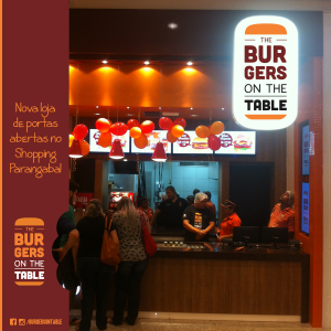 Nova sede do The Burgers on the Table