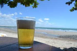 Cerveja e mar (Foto: João Filho/Cervas Fortal)