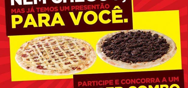 Resultado da promoção da Empório Pizza