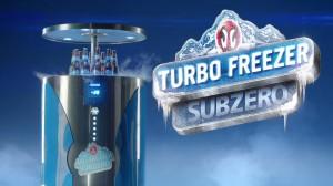 Turbo Freezer Sub Zero, lançamento da Antactica, marca da AMBEV (Divulgação)