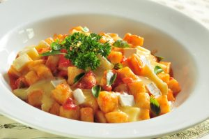 Gnocch de batata ao pomodoro basílico e queijo brie (Divulgação)