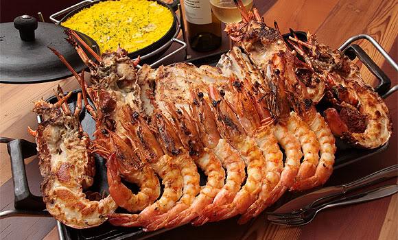 Dicas para churrasco de frutos do mar