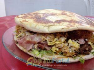 Sorvebom faz mega promoção de sanduíches que servem até 4 pessoas (Foto Divulgação)
