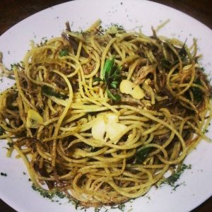 Spaghetti Lampião é grande dica do jantar no restaurante (Foto: Divulgação)