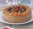 Torta de ricota com frutas secas