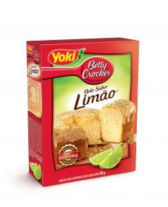 Sabor limão da Yoki Betty Crocker