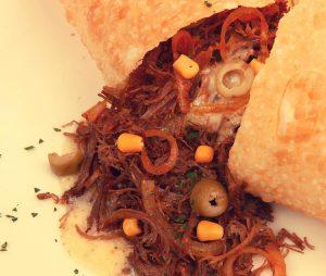 Pastel de carne do sol do Cheppito's