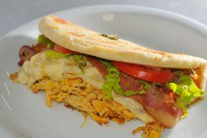 Muitos sanduíches são aposta do Azilados (Foto: Divulgação)