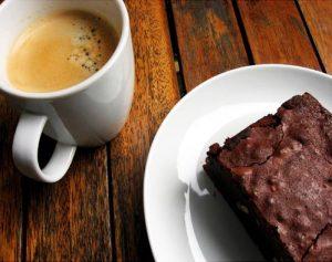 Café com brownie (Foto: Divulgação)