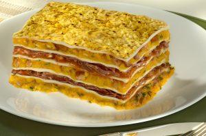 Lasanha de jerimum com carne seca (Divulgação)