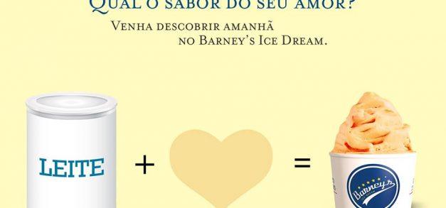 Barney's Ice Dream lança campanha solidária com gelatos grátis