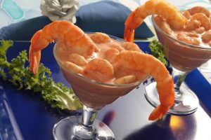 Coquetel de camarão em versão peruana: uma das delícias a ser servida no evento (Foto meramente ilustrativa)