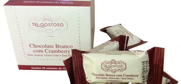 Empresa paranaense cria chocolate branco sem açúcar, lactose ou glúten
