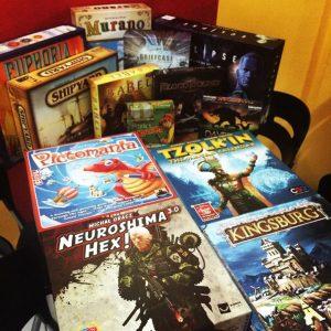 Balboa's traz amplo acervo de jogos de mesa (board games) para os fãs do gênero