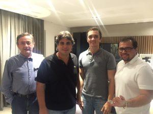 Ribamar Ponte, Victor Pessoa, Marcelo Marfrutas e Xand Aviao (Divulgação)