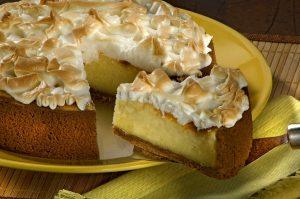 Torta suflê de limão... Hmmm