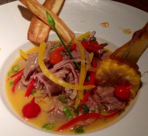 La Fusion é uma das opções de ceviche do Misaki Restaurante (Divulgação)