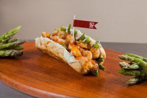Hey Joe traz opções diversificadas e saudáveis de sanduíches: na foto, Camaron Joe (Divulgação)