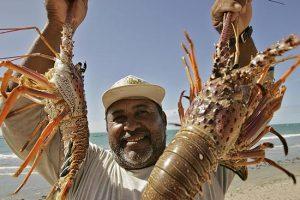 Icapuí busca certificação ambiental e conscientização para a necessidade de se praticar uma pesca sustentável da lagosta (Foto: Governo do Estado do Ceará)